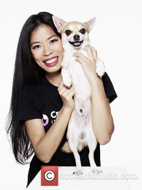 Vanessa-mae and Max 1