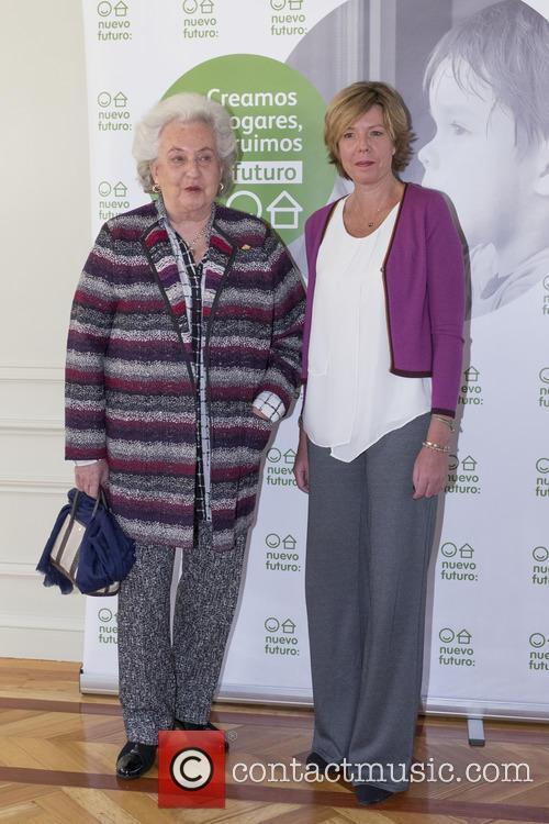 S.a.r. Princess Pilar De Borbon and Simoneta Gómez Acebo 4