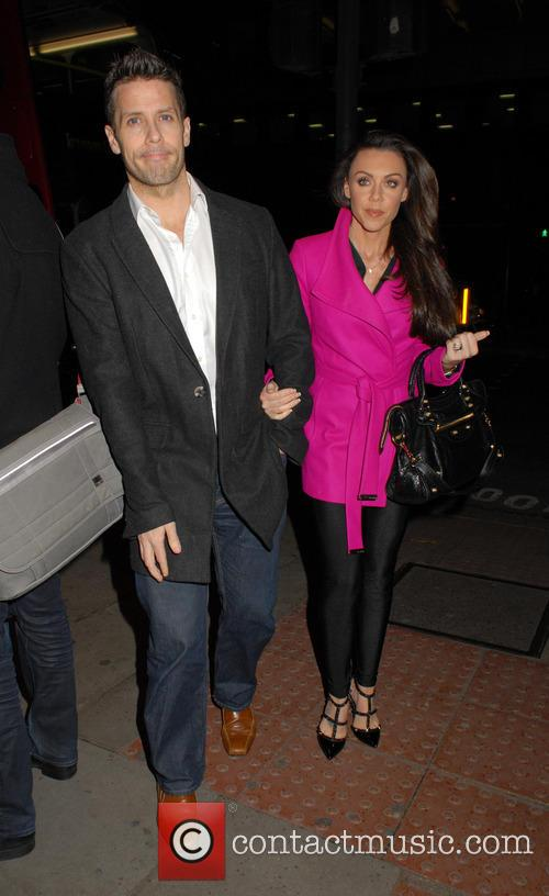 Hugh Hanley and Michelle Heaton 2