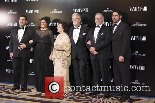 Placido Doming Jr., Marta Ornelas, Placido Domingo and Alvaro Maurizio Domingo 1