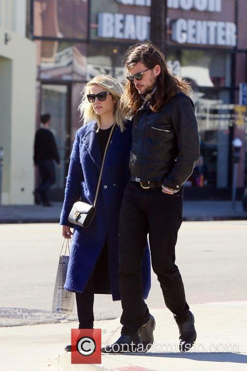 Dianna Agron and Winston Marshall 1