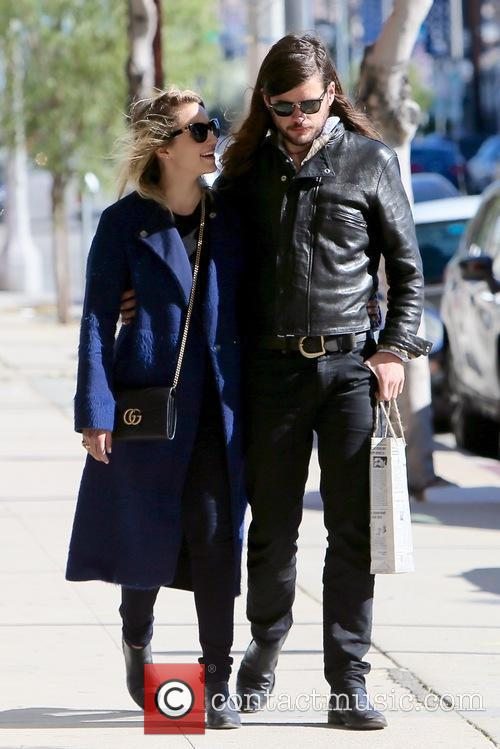 Dianna Agron and Winston Marshall 2