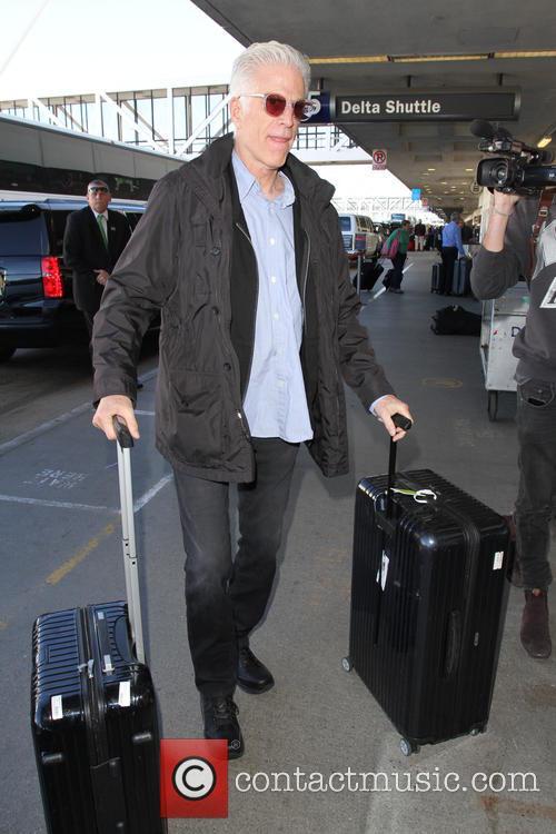 Ted Danson Ted Danson arrives on a flight...