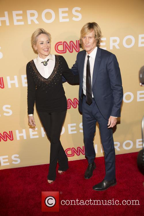 Sharon Stone and Scott Woodward 1