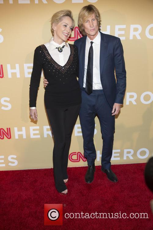 Sharon Stone and Scott Woodward 2