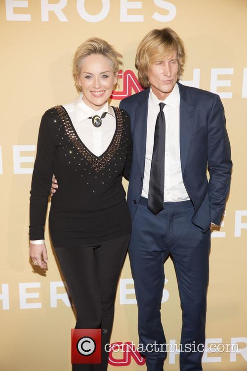 Sharon Stone and Scott Woodward 6