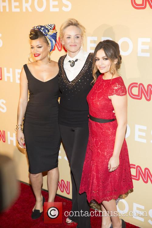 Andra Day, Sharon Stone and Bethany Moda 1