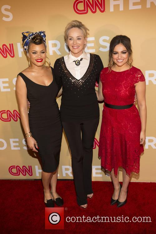 Andra Day, Sharon Stone and Bethany Moda 2