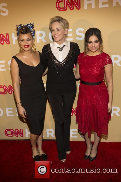 Andra Day, Sharon Stone and Bethany Moda 4