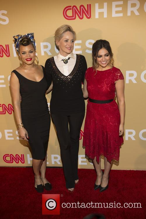 Andra Day, Sharon Stone and Bethany Moda 5