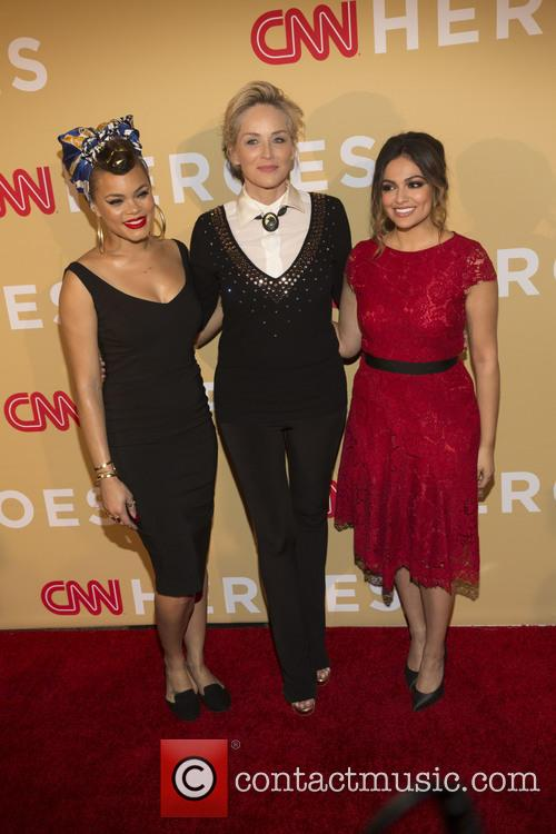 Andra Day, Sharon Stone and Bethany Moda 6