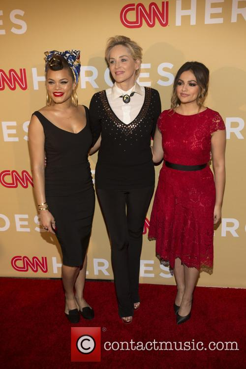 Andra Day, Sharon Stone and Bethany Moda 7