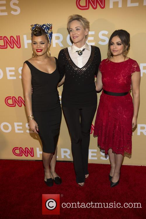 Andra Day, Sharon Stone and Bethany Moda 8