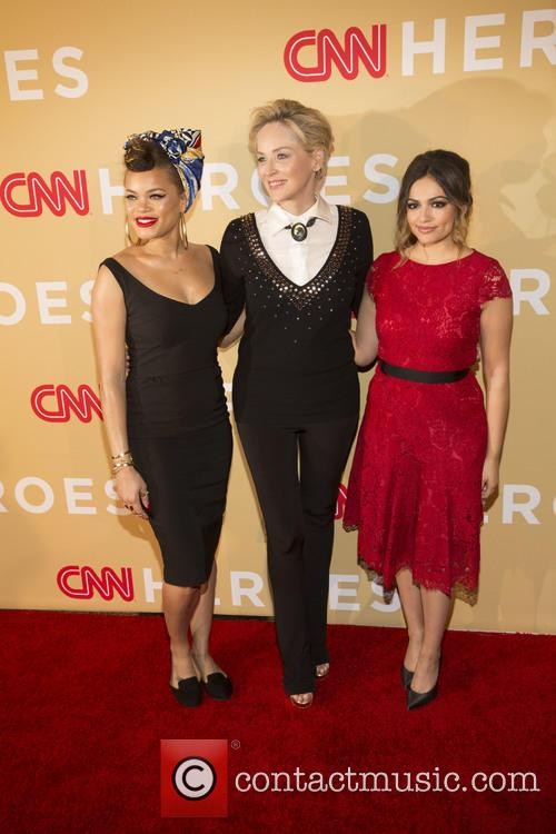 Andra Day, Sharon Stone and Bethany Moda 9