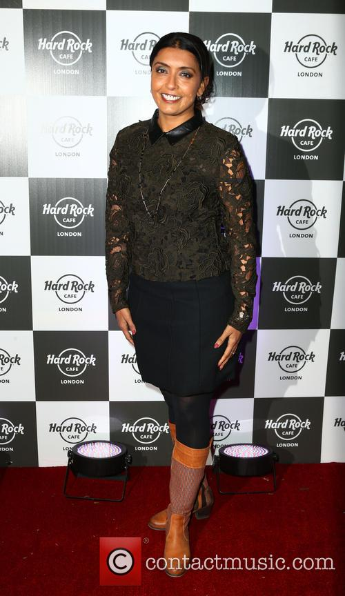 Pixie Lott music showcase at the Hard Rock...