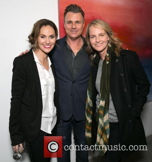 Amy Brenneman, Steve Janssen and Helen Hunt 6