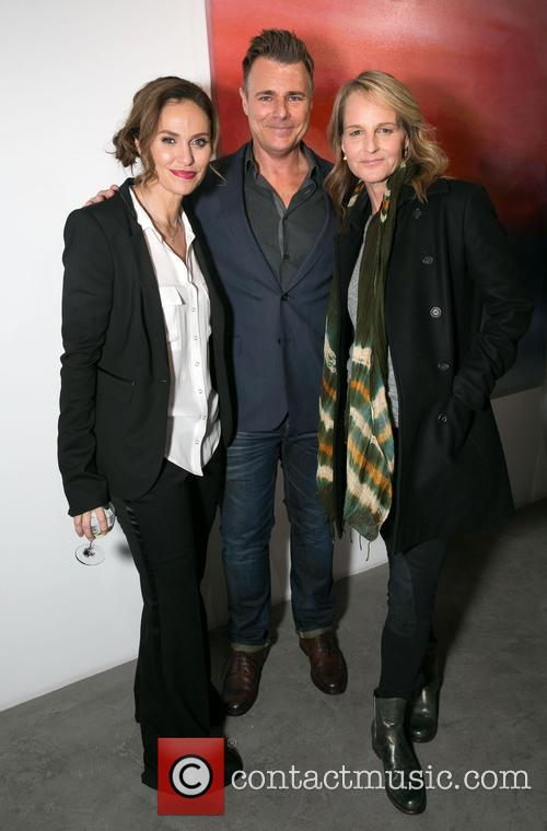 Amy Brenneman, Steve Janssen and Helen Hunt 8