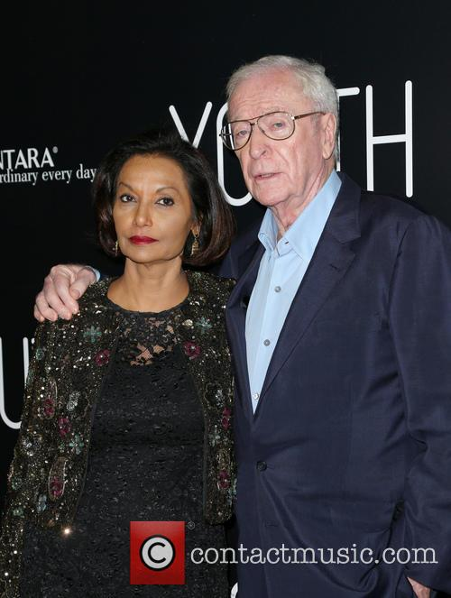 Shakira Caine and Michael Caine 1