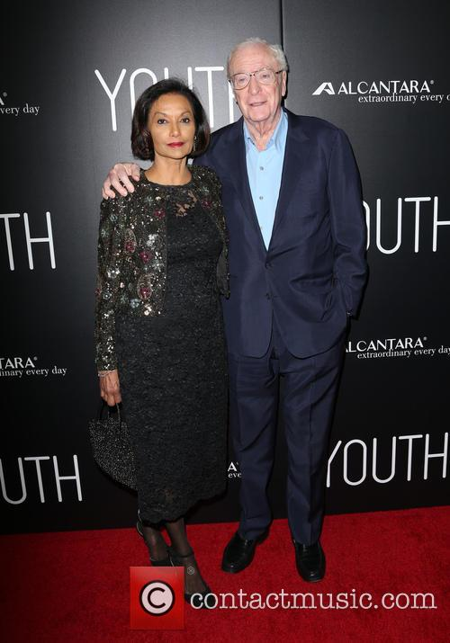 Shakira Caine and Michael Caine 3