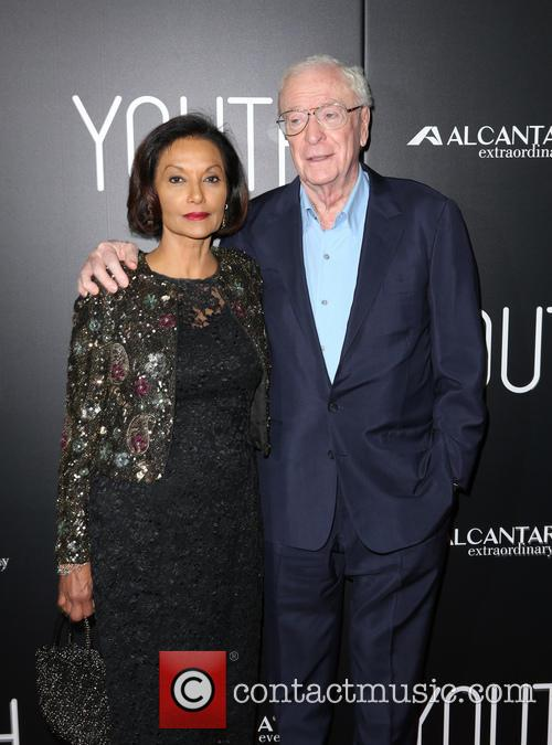 Shakira Caine and Michael Caine 5