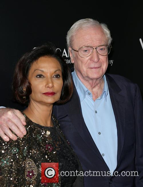 Shakira Caine and Michael Caine 6