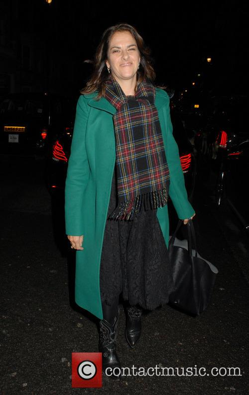 Burberry and Claridge's Christmas Tree Launch Party at...