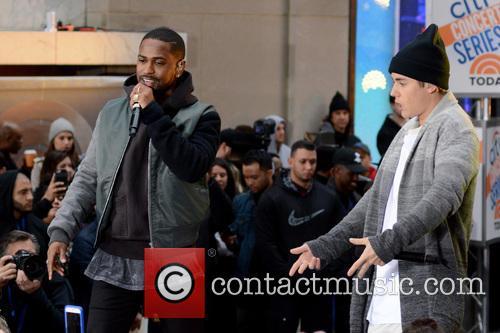 Big Sean and Justin Bieber 2
