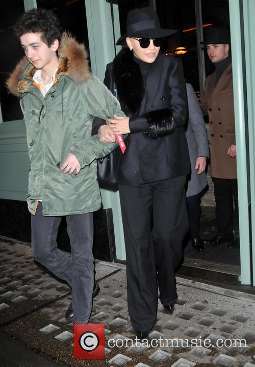 Rita Ora and her brother Don at Sexy...