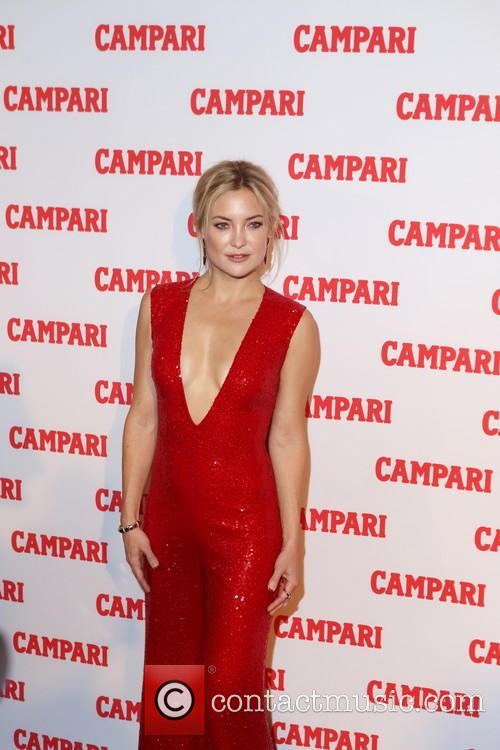 Campari exclusive red carpet event with Kate Hudson
