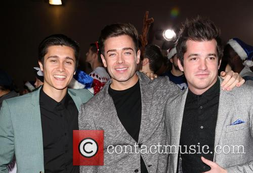 Aleksey Lopez, Kristopher James and Kyle Carpenter Of The Boy Band The Scheme 4