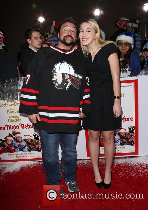Kevin Smith and daughter Harley Quinn Smith