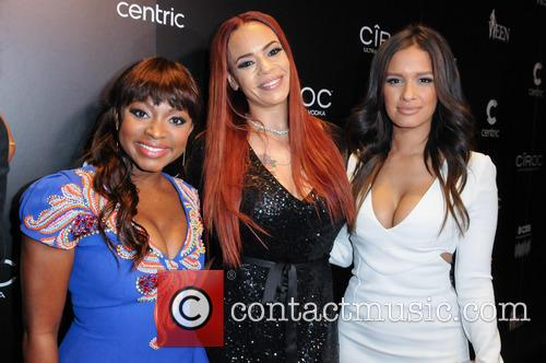 Naturi Naughton, Faith Evans and Rocsi Diaz 1