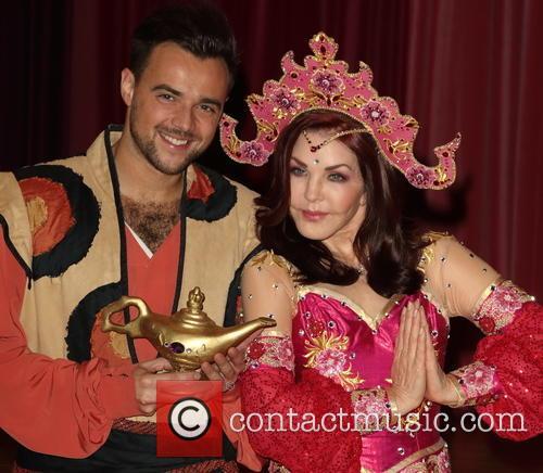 Priscilla Presley and Ben Adams