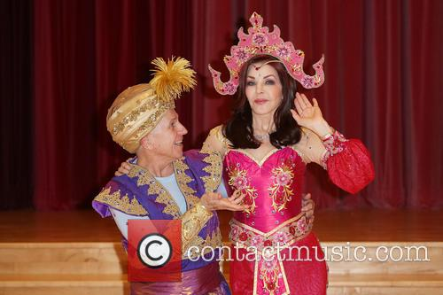 Wayne Sleep and Priscilla Presley 8