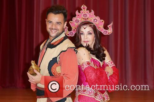Ben Adams and Priscilla Presley 5