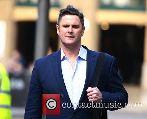 Chris Cairns arrives at Southwark Crown Court for...