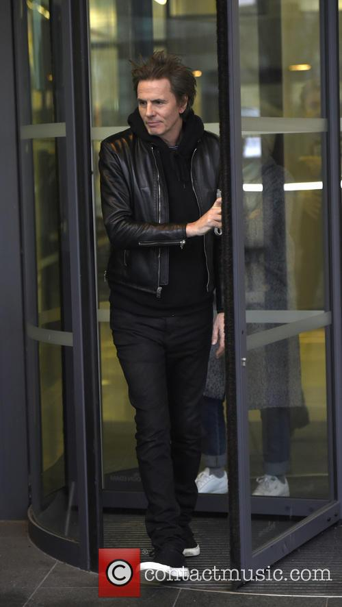 Duran Duran at the BBC Breakfast studios
