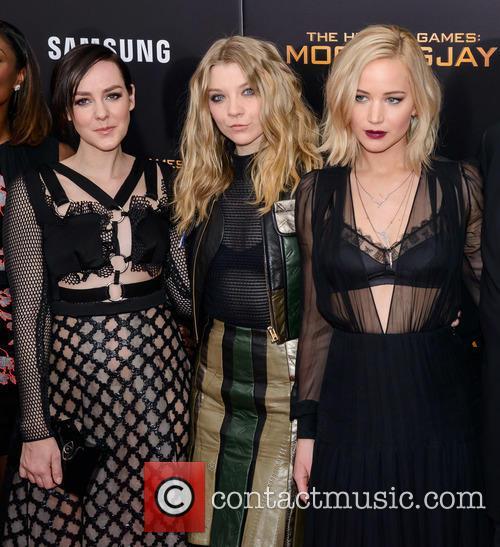 Jena Malone, Natalie Dormer and Jennifer Lawrence 6
