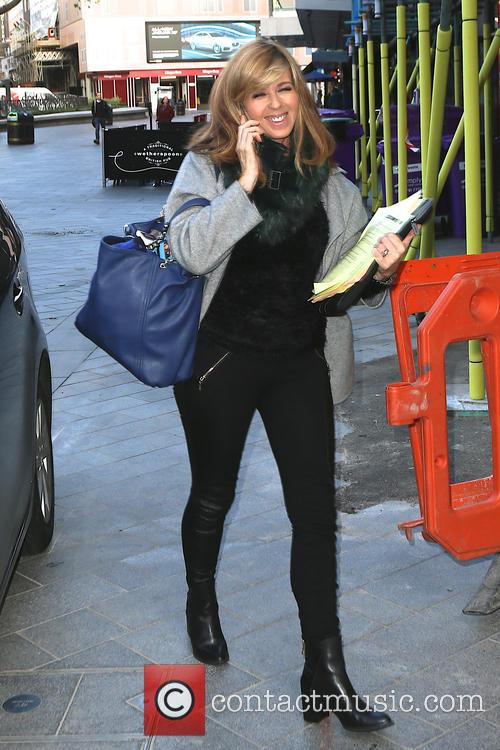 Kate Garraway arrives at Capital Radio