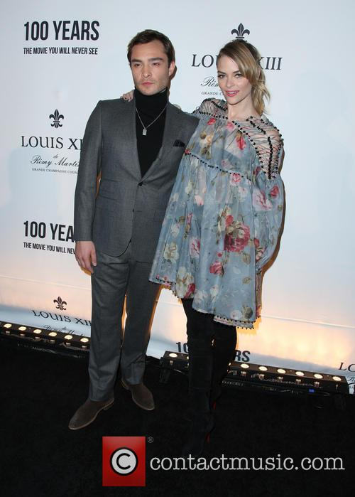 Ed Westwick and Jaime King 9