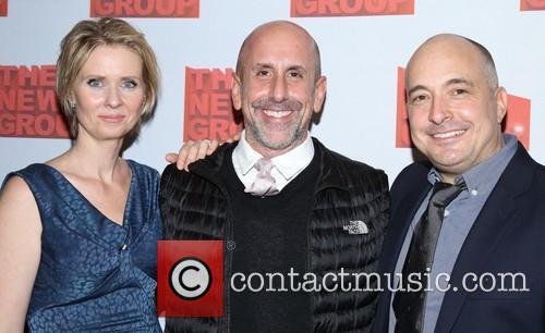 Cynthia Nixon, Scott Elliott and Mark Gerrard 9