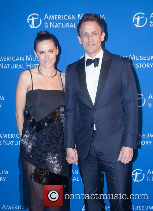 Seth Myers and Alexi Ashe 2