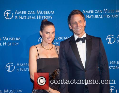 Seth Myers and Alexi Ashe 3