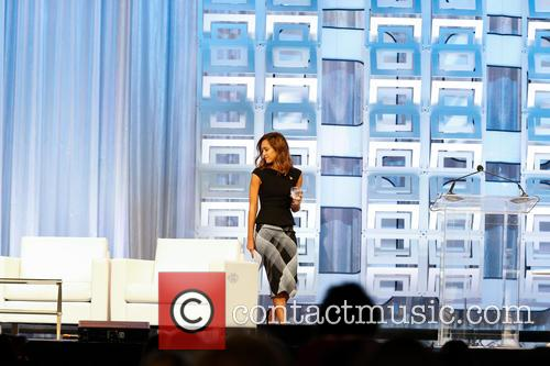 Jessica Alba at the Pennsylvania Conference for Women