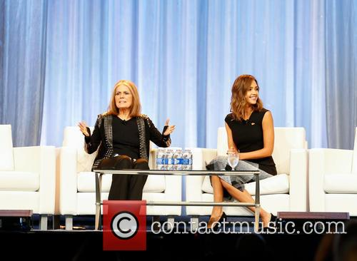 Jessica Alba and Gloria Steinem 3