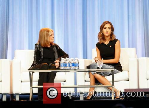 Jessica Alba and Gloria Steinem 4