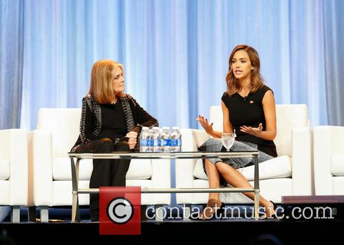 Jessica Alba and Gloria Steinem 5