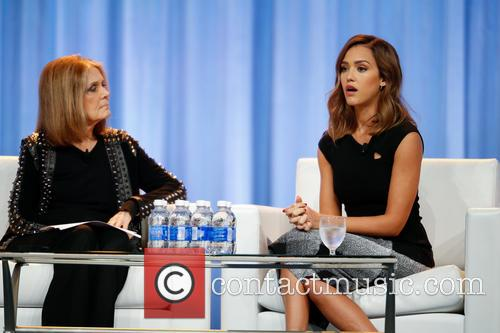 Jessica Alba and Gloria Steinem 10