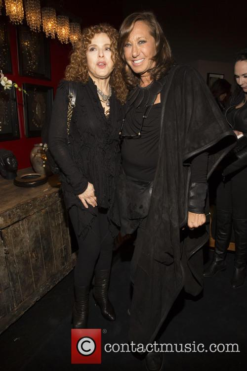 Bernadette Peters and Donna Karan 10