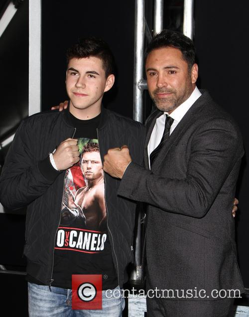 Devon De La Hoya and Oscar De La Hoya 1